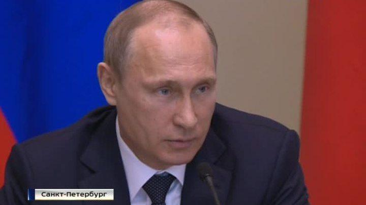 Путин: вызвать коллапс экономики санкциями не получилось