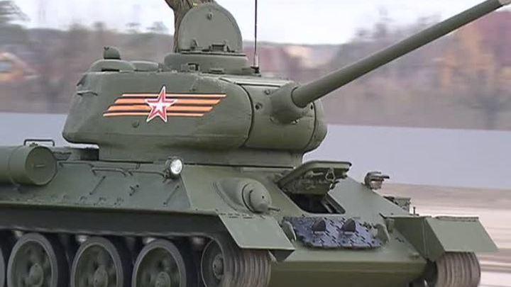 Репетиция парада Победы в Москве будет транслироваться в Интернете