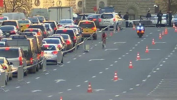 На западе и юго-западе столицы из-за велогонки перекрыты несколько улиц