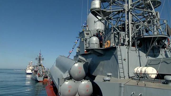 Севастополь. Военно-морской парад