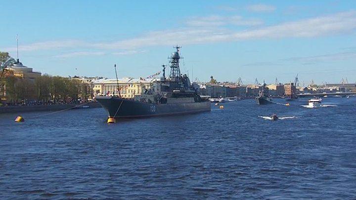 Когда будет военно морской парад в спб 2018