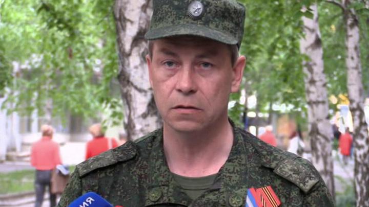 Басурин: силовики продолжают укреплять позиции на линии огня