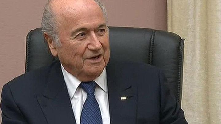 Йозеф Блаттер: я ушел в отставку, чтобы защитить ФИФА