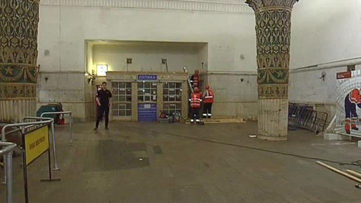 """Вестибюль станции """"Проспект Мира"""" Кольцевой линии закрыт"""