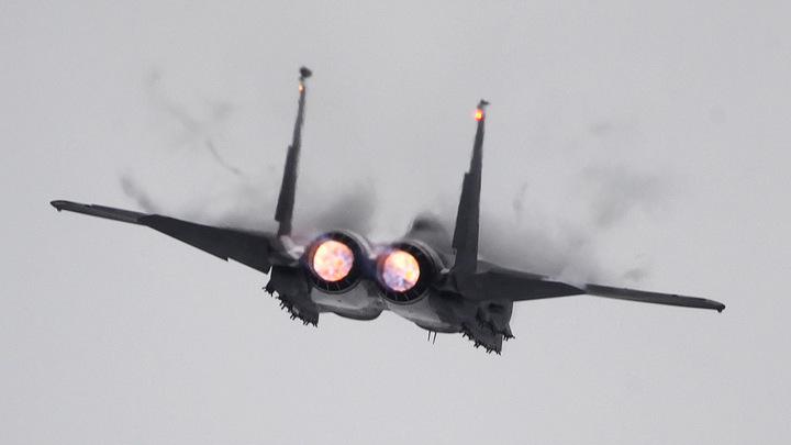 Игра в НАТО: США пустили в ход истребители