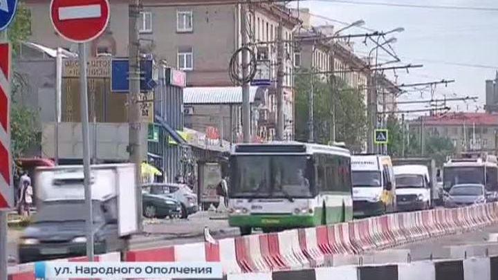 Столичные водители учатся обходиться без улицы Народного ополчения