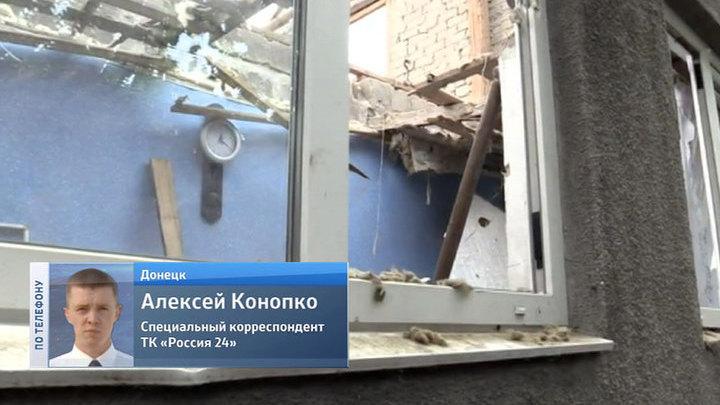 Украинские силовики вновь обстреливают аэропорт Донецка