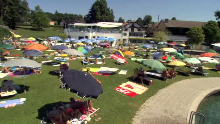Европу накрыла аномальная жара