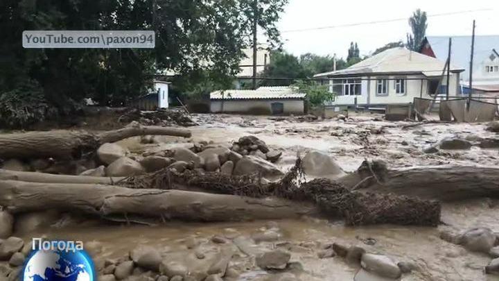 В Алма-Ате сель подтопил более 120 домов