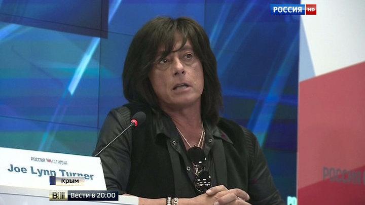 Вокалист Deеp Purple в Крыму: Россия - новый дом для меня