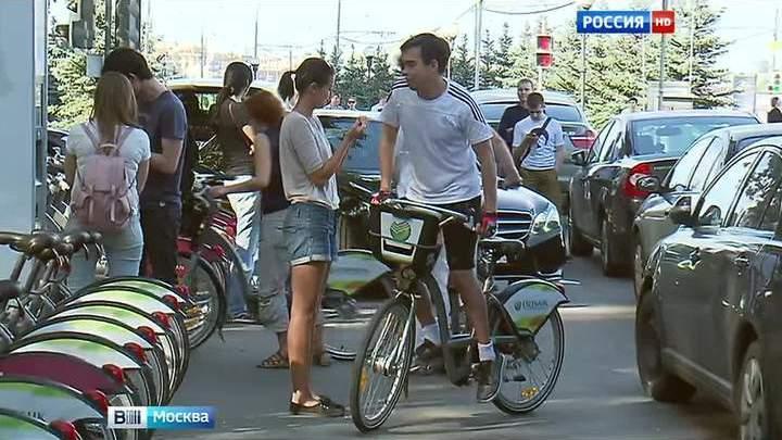 В этом году в Москве появится еще 400 велопарковок
