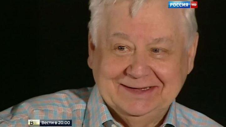Олег Табаков отмечает 80-летие во время летнего антракта