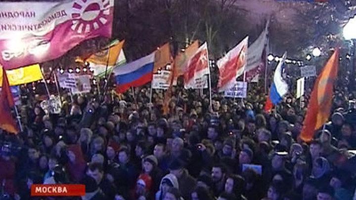 Митинги оппозиции: полиция пресекает только несанкционированные акции