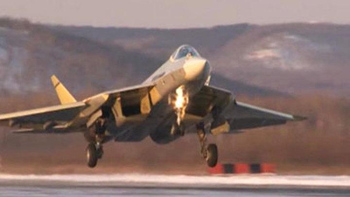 Опытный истребитель 5-го поколения совершил очередной успешный полет