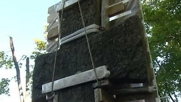 Труворов крест спасают от разрушения