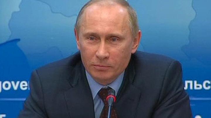 Путин рассказал анекдот про шпиона