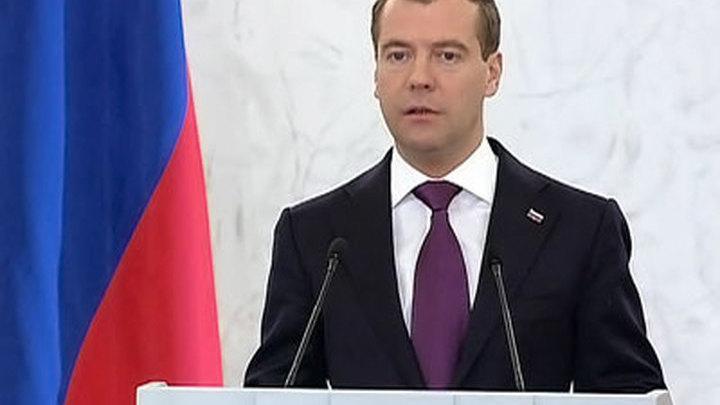 Медведев: к выборам в Госдуму политическая система будет обновлена на всех уровнях