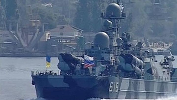 Шоу в честь Дня ВМФ в Севастополе. Часть 2