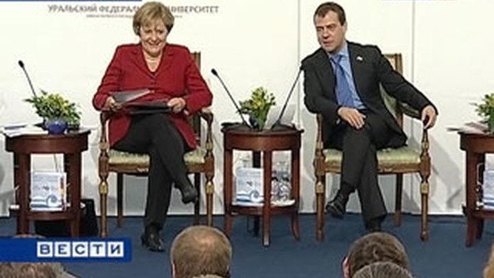 Экономики России и Германии выходят из кризисного пике