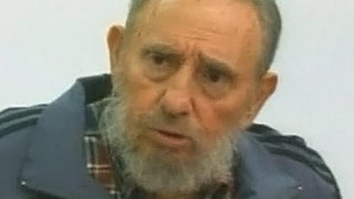 Фидель Кастро принял участие в телепередаче
