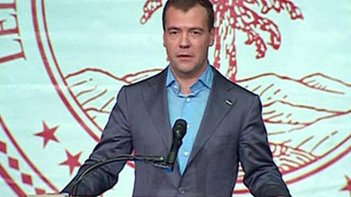 Медведев познакомился с опытом Кремниевой долины