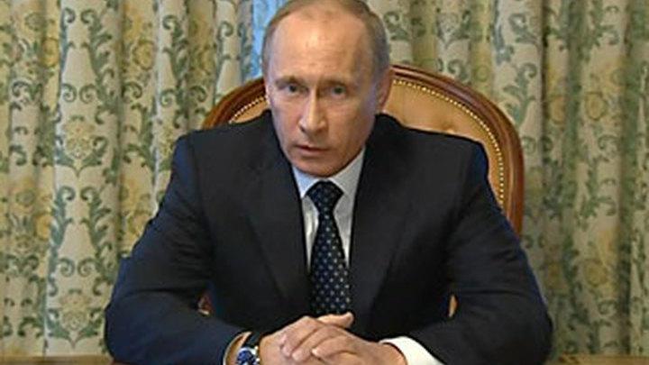 Путин: организаторы терактов в метро будут уничтожены