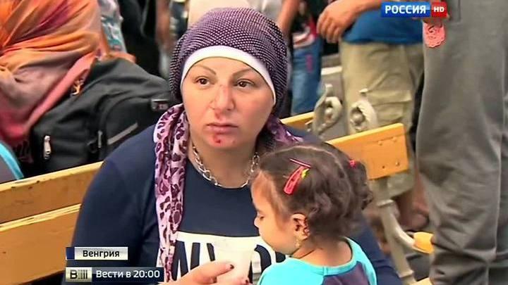 Натиск мигрантов: нелегалы толпами рвутся в Германию