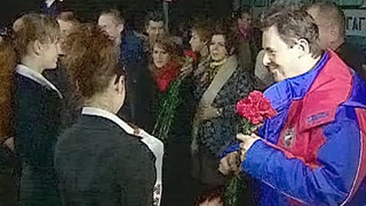 Космонавты добрались из Казахстана до Звездного городка