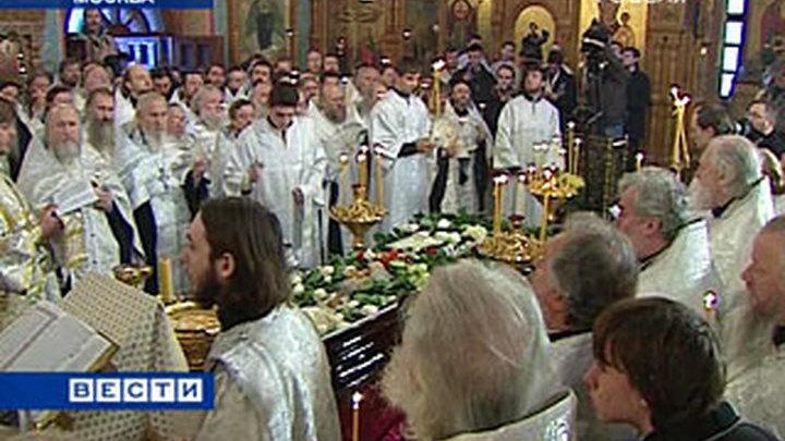 Даниил Сысоев похоронен на Кунцевском кладбище