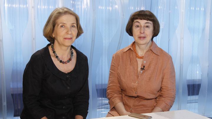 Галина Цедрик и Татьяна Левина