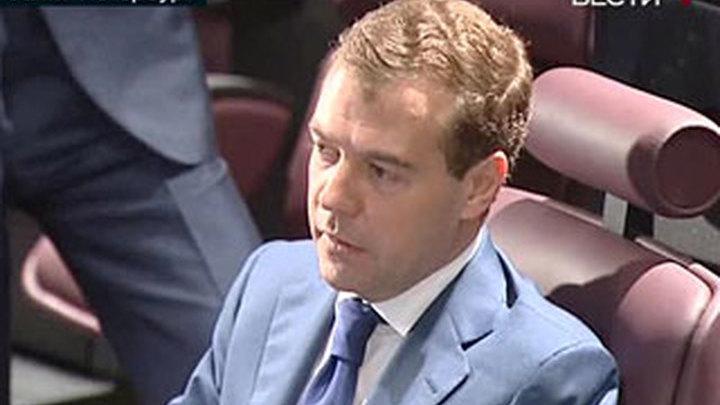 Медведев подарил библиотеке Ельцина коллекцию раритетов