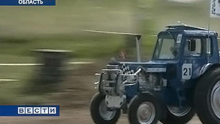 """""""Формула-1"""" по-ростовски: трактора разгоняются не хуже болидов"""