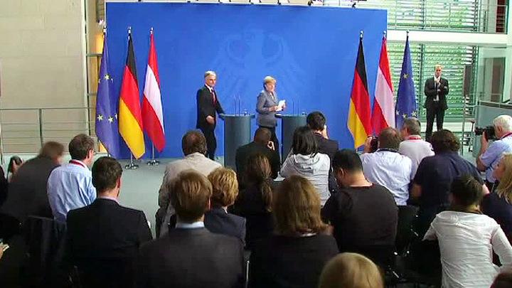 Ангела Меркель: контроль на границах устанавливается только для учета беженцев