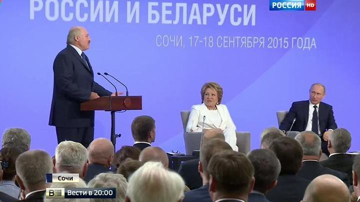 Россия и Белоруссия: вместе против кризиса