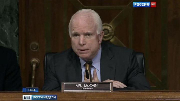 Инсайт Маккейна: озарение сделало сенатора-ястреба сторонником Асада