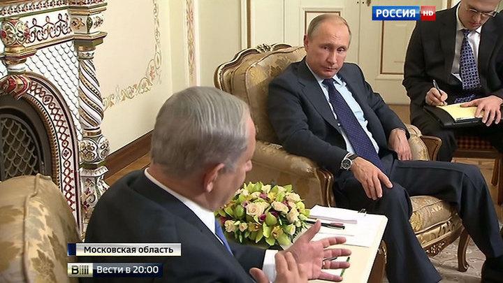 О войне и мире: Путин провел переговоры с премьер-министром Израиля