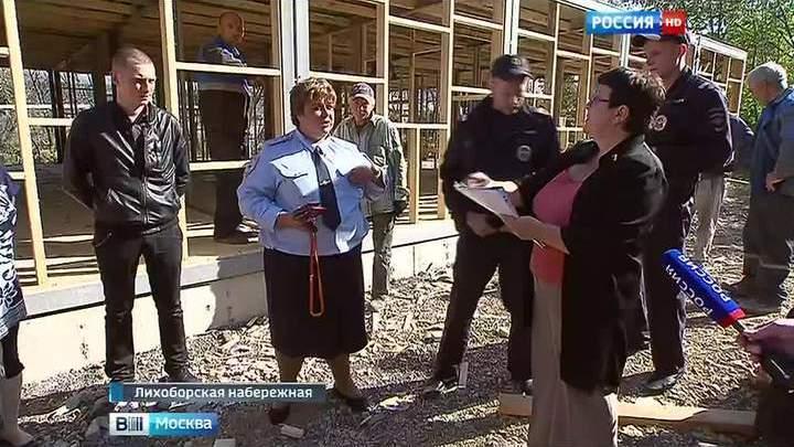 В Головинском районе жителей лишили гаражей ради общежития для коммунальщиков
