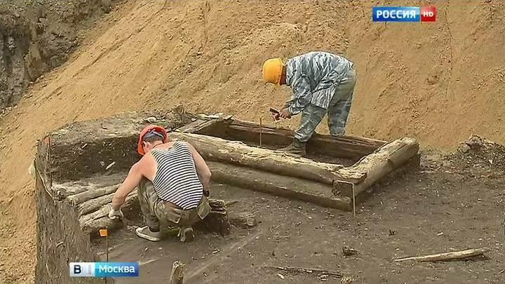 Археологи обнаружили в Зарядье древнейшую улицу Москвы