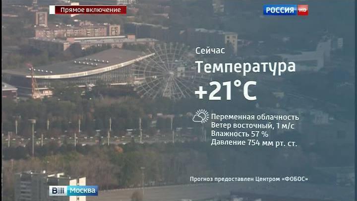 Москва - в ожидании погодных рекордов