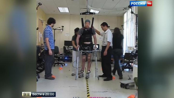 Прорыв в протезировании: парализованного пациента поставили на ноги