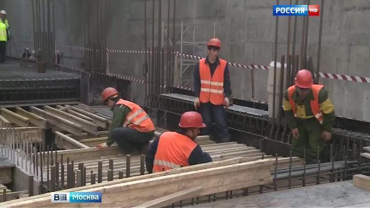 """Завершена проходка тоннеля между строящимися станциями метро """"Хорошевская"""" и """"Шелепиха"""""""