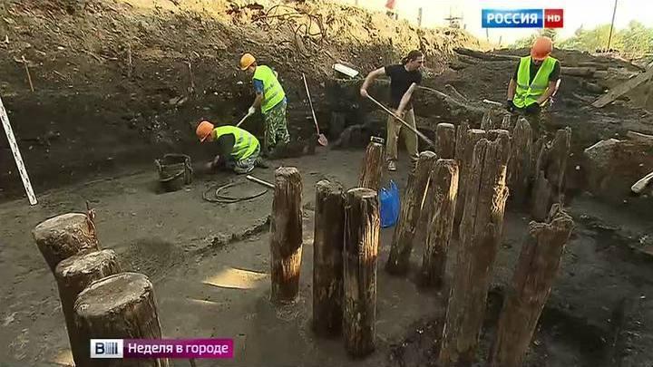 Вести.ru: археологи нашли древнейшую улицу москвы.