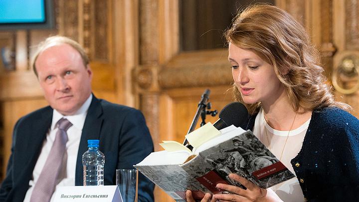 """""""Война и мир. Читаем роман"""". Пресс-конференция. Виктория Исакова и Владимир Толстой"""