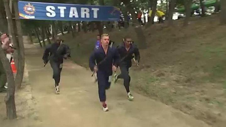 Российские атлеты с триумфом выступили на Всемирных военных играх в Южной Корее