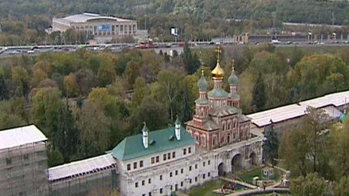 Продолжаются реставрационные работы Новодевичьего монастыря