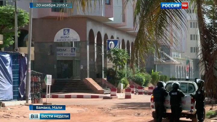 """Бывший заложник рассказал о """"зачистке"""" в отеле Мали"""